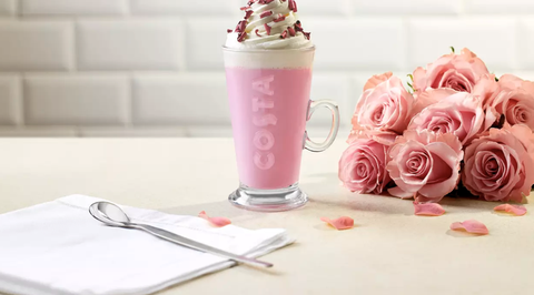 Costa's Ruby Cocoa Hot Chocolate Will Take Your Instagram To The Next Level