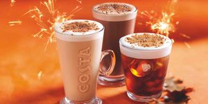 Costa Bonfire Spiced Coffees
