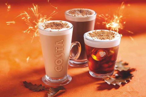 costa s new autumn menu is here and it includes a bonfire spiced latte
