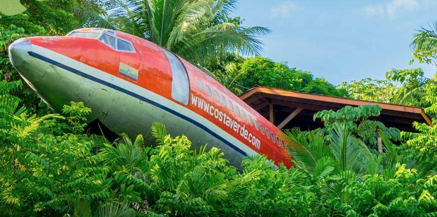 Hotel Costa Verde's Airplane Suite in Costa Rica Is