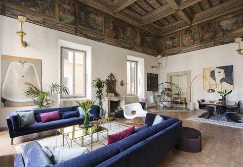 Room, Property, Living room, Interior design, Building, Furniture, Ceiling, House, Real estate, Estate,