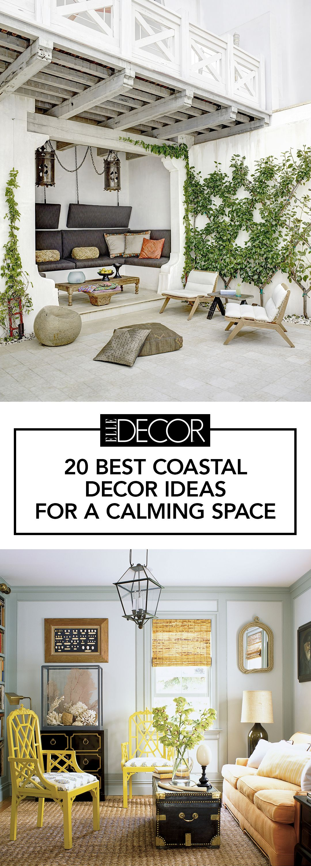 20 Coastal Home Decor Ideas - Rooms with Coastal Style