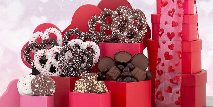 Costco Sells A One Pound Valentine S Day Chocolate Tower
