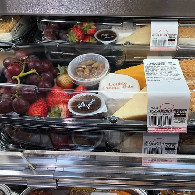 costco cheese and fruit tray charcuterie board