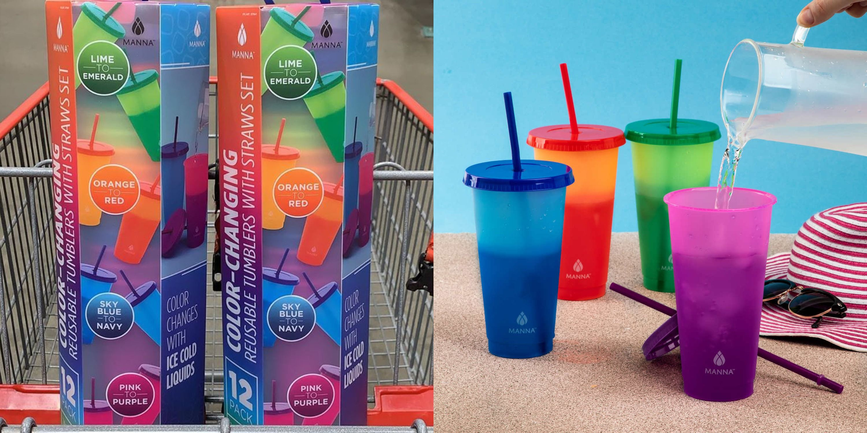 Manna Color Changing Cold Cup Personalized