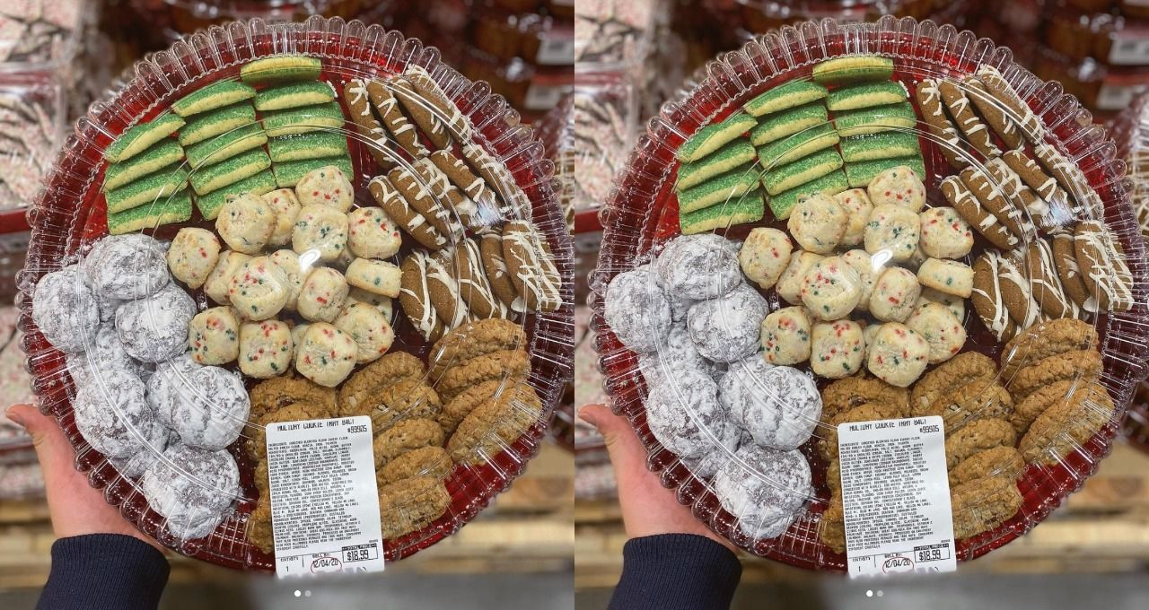 Costco S Massive Cookie Platter Is Back For The Holidays