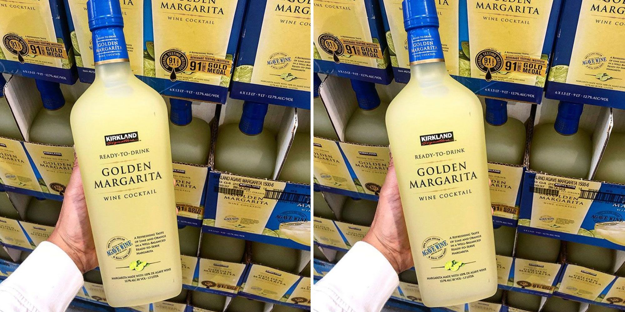 Costco Has Its Own HUGE Bottle of Golden Margarita That's Ready to Serve Over Ice