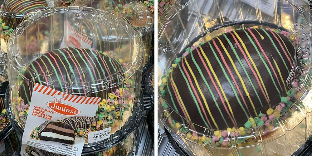 Costco Is Selling A Giant Egg-Shaped Cake That's Filled With White And Milk Chocolate Mousses