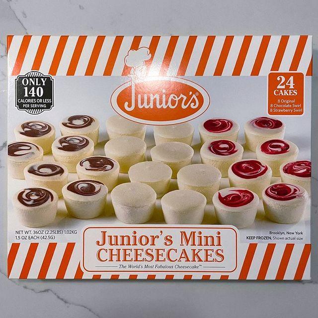 costco junior's mini cheesecakes