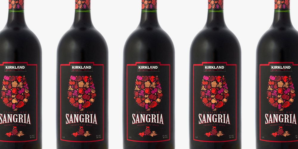 Costco Has Its Own GIANT Bottle Of Red Sangria For Just $7