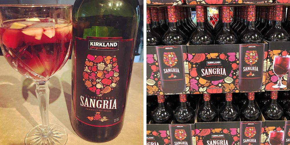 Costco Has Its Own Giant Bottle Of Red Sangria For Just 7