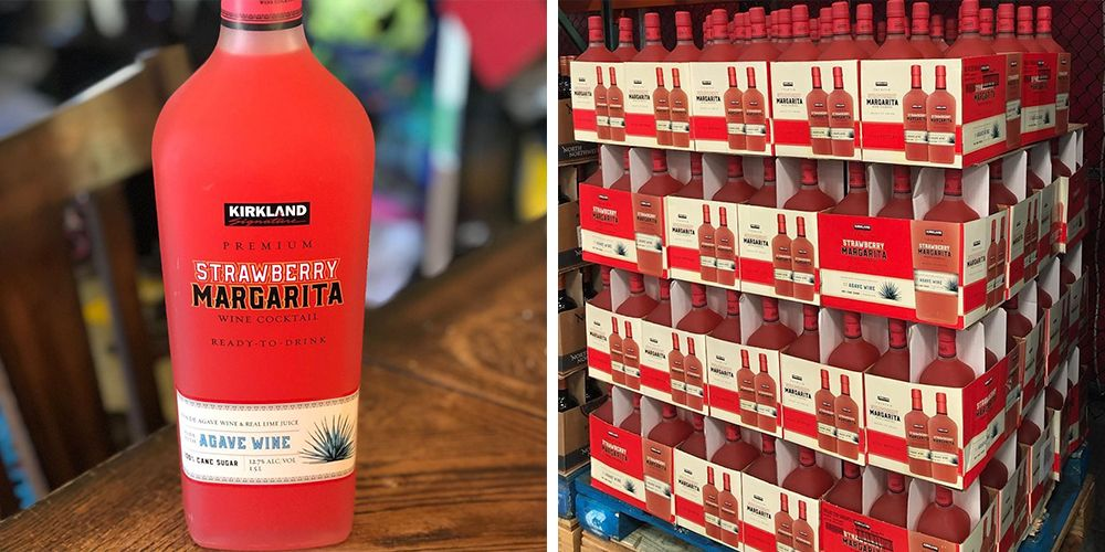 Costco's New Huge Bottle of Strawberry Margarita Will Keep You Tipsy All Summer