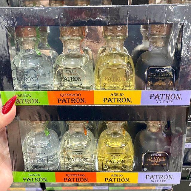 costco patrón tequila gift set