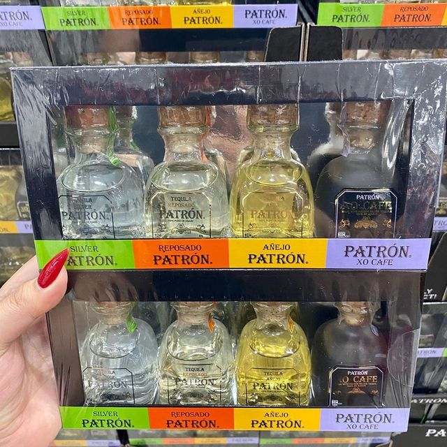 costco patron tequila pack