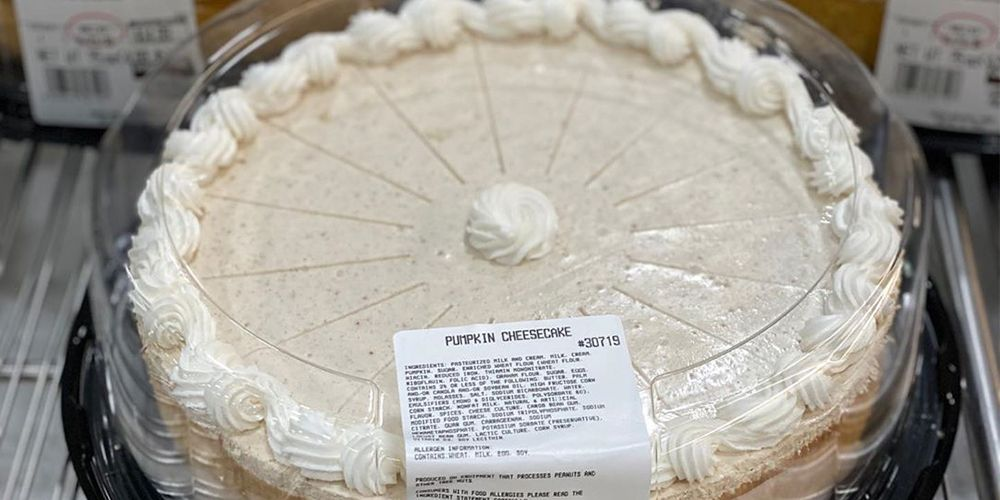 Costco's 5-Pound Pumpkin Cheesecake Will Be the Star of the Thanksgiving Dessert Table