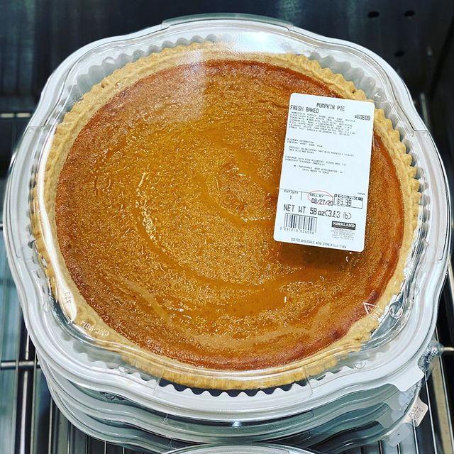 costco 35 pound pumpkin pie
