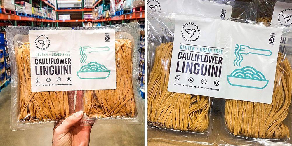 Costco Is Selling Cauliflower Linguini That Has 2.5 Servings Of Veggies, But Tastes Like Pasta