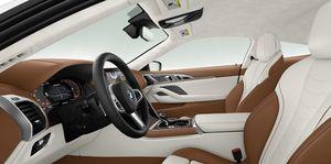 2019 BMW M850i coupe interior