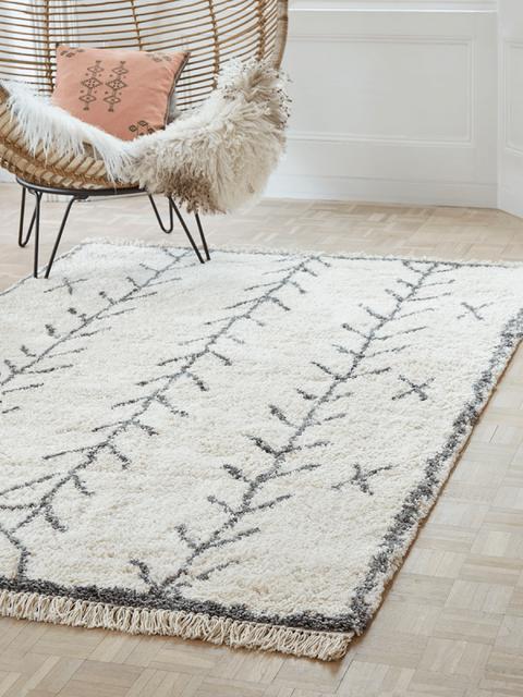 shaggy rug, £275, cox  cox