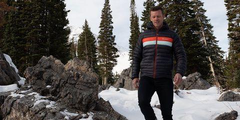 Snow, Winter, Tree, Wilderness, Footwear, Freezing, Recreation, Plant, Mountain, Outerwear,