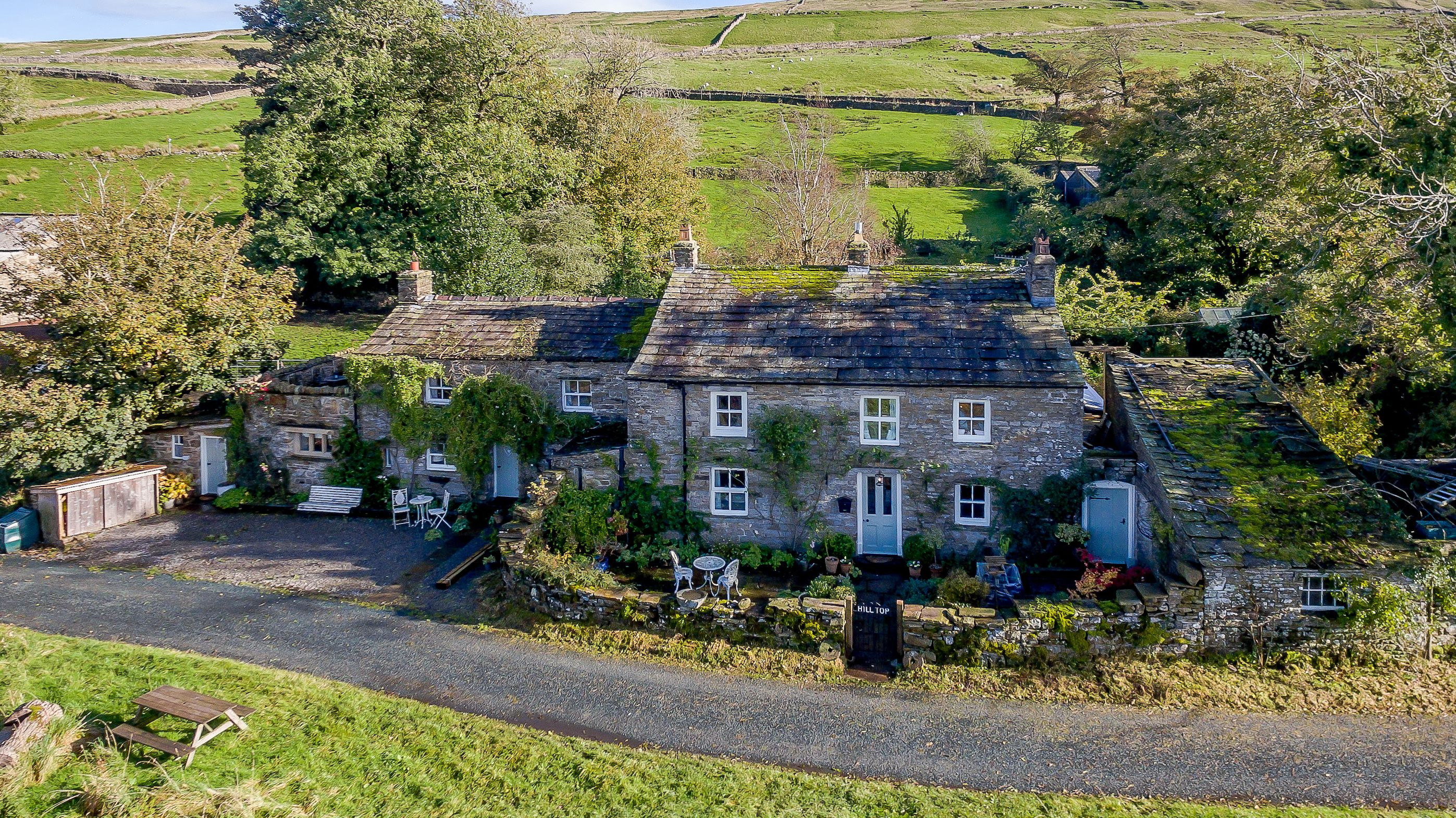Picture-perfect stone cottage for sale in the heart of the Yorkshire Dales