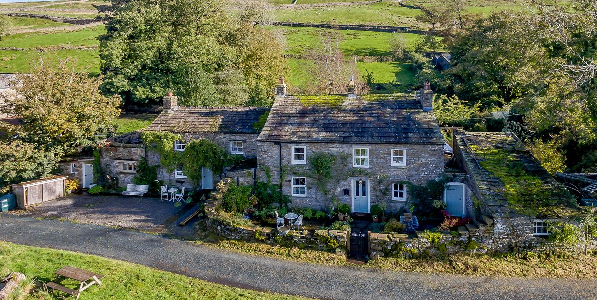 Peek inside this 17th century stone cottage for sale in the Yorkshire Dales
