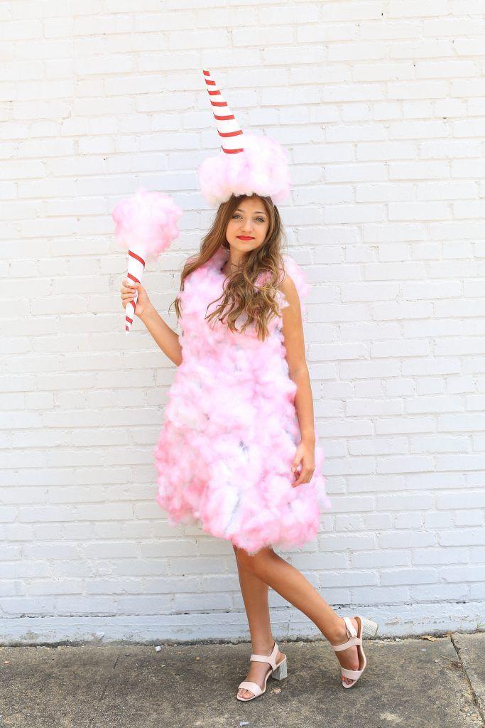 Cotton Candy Halloween Costume Teen Girl