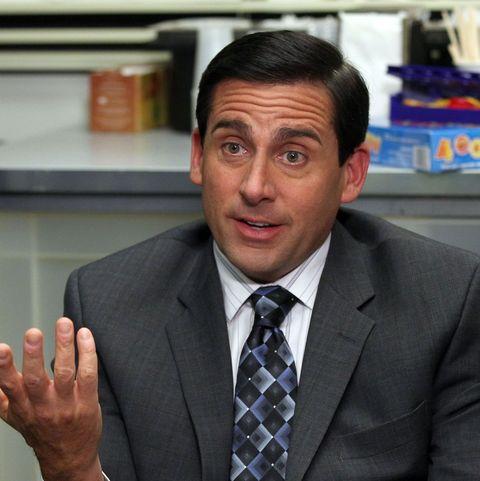 michael scott in 'the office'
