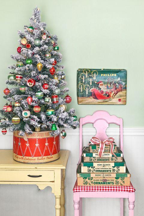 country christmas decorations mini tree
