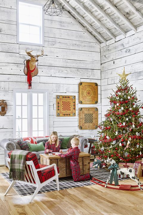 country christmas decorations tree