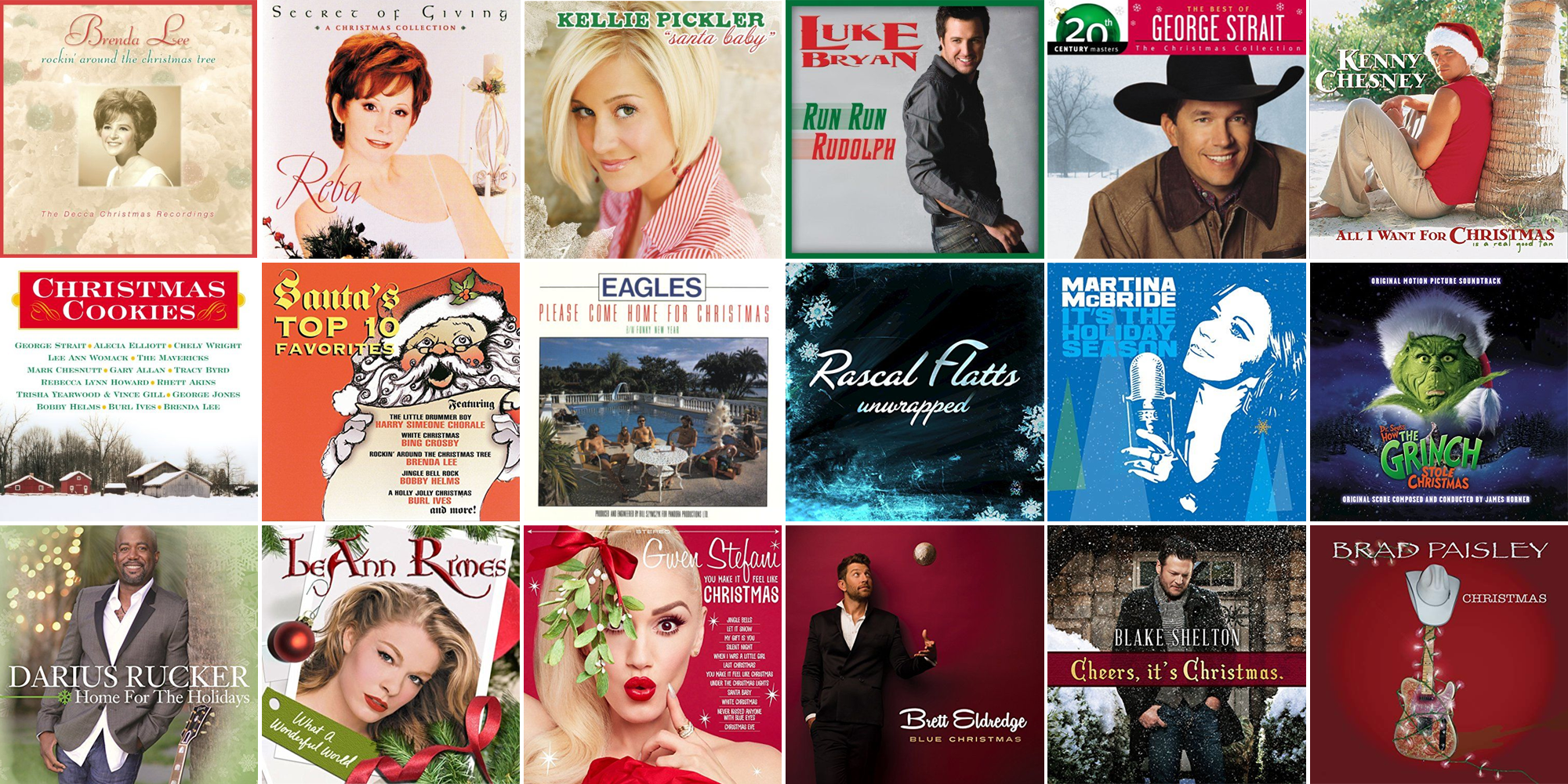 25 Catchy Country Christmas Songs You Should Start Listening to Now