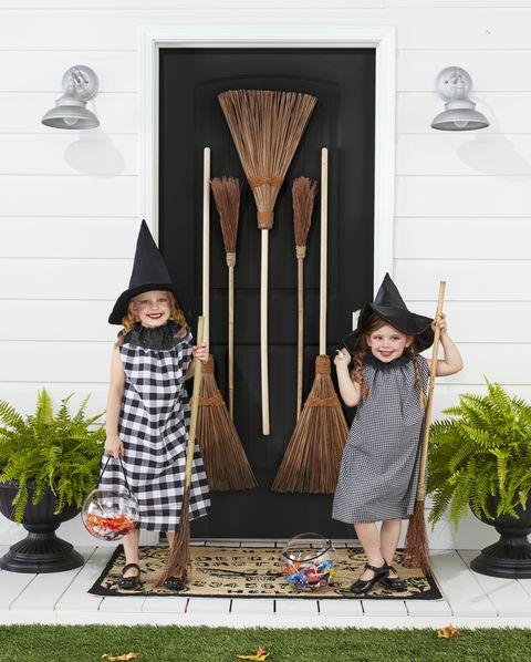 diy witch halloween costume kids