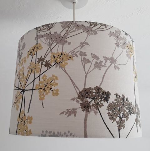 Country hedgerow lampshade