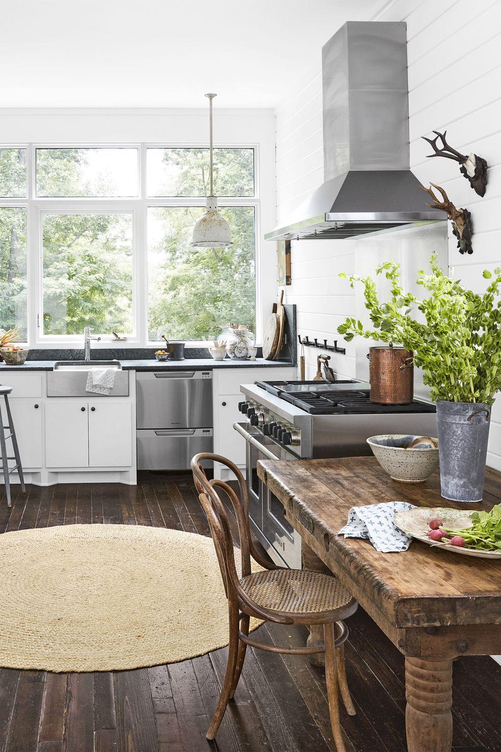 country kitchen ideas practical & 100+ Kitchen Design Ideas - Pictures of Country Kitchen Decorating ...