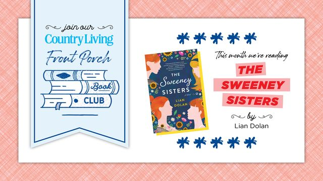 country living front porch book club august selection the sweeney sisters