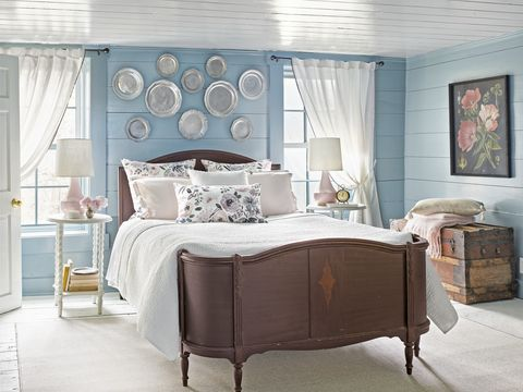 Country Williams Small Bedroom Blue
