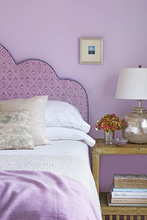 Country Living Lilac Bedroom