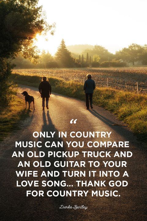 15 Best Country Music Quotes - Country Song Quotes About Life