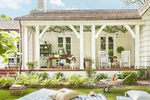 48 Best Patio Designs For 48 Ideas For Front Porch And Patio Impressive Vintage Bedroom Pinterest Exterior Property