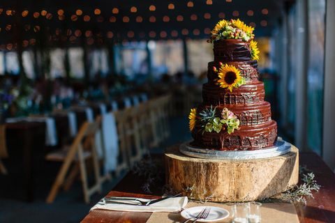 country wedding cake idea
