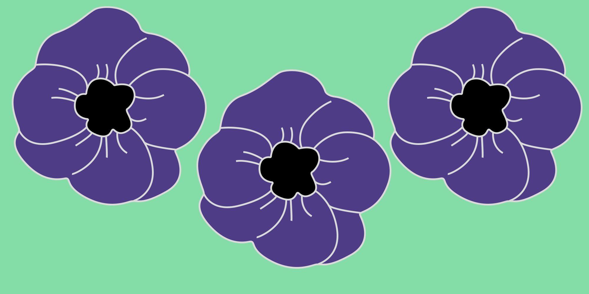 Purple poppy campaign