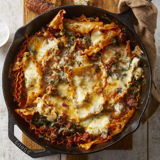 sausage and cheese lasagna