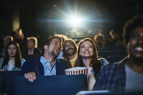 Generic of couple in cinema