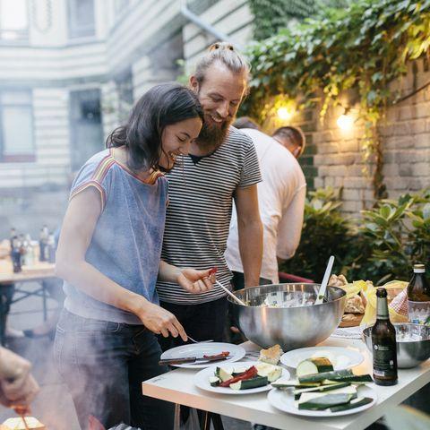 Brunch, Meal, Cooking, Food, Event, Lunch, Restaurant, Backyard, Taste, Dish,