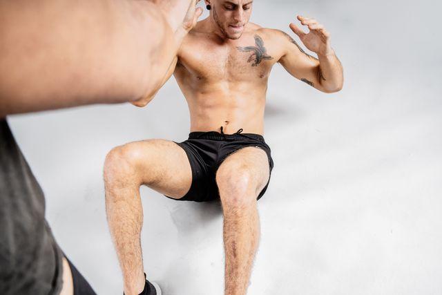 entrenamiento de abdominales