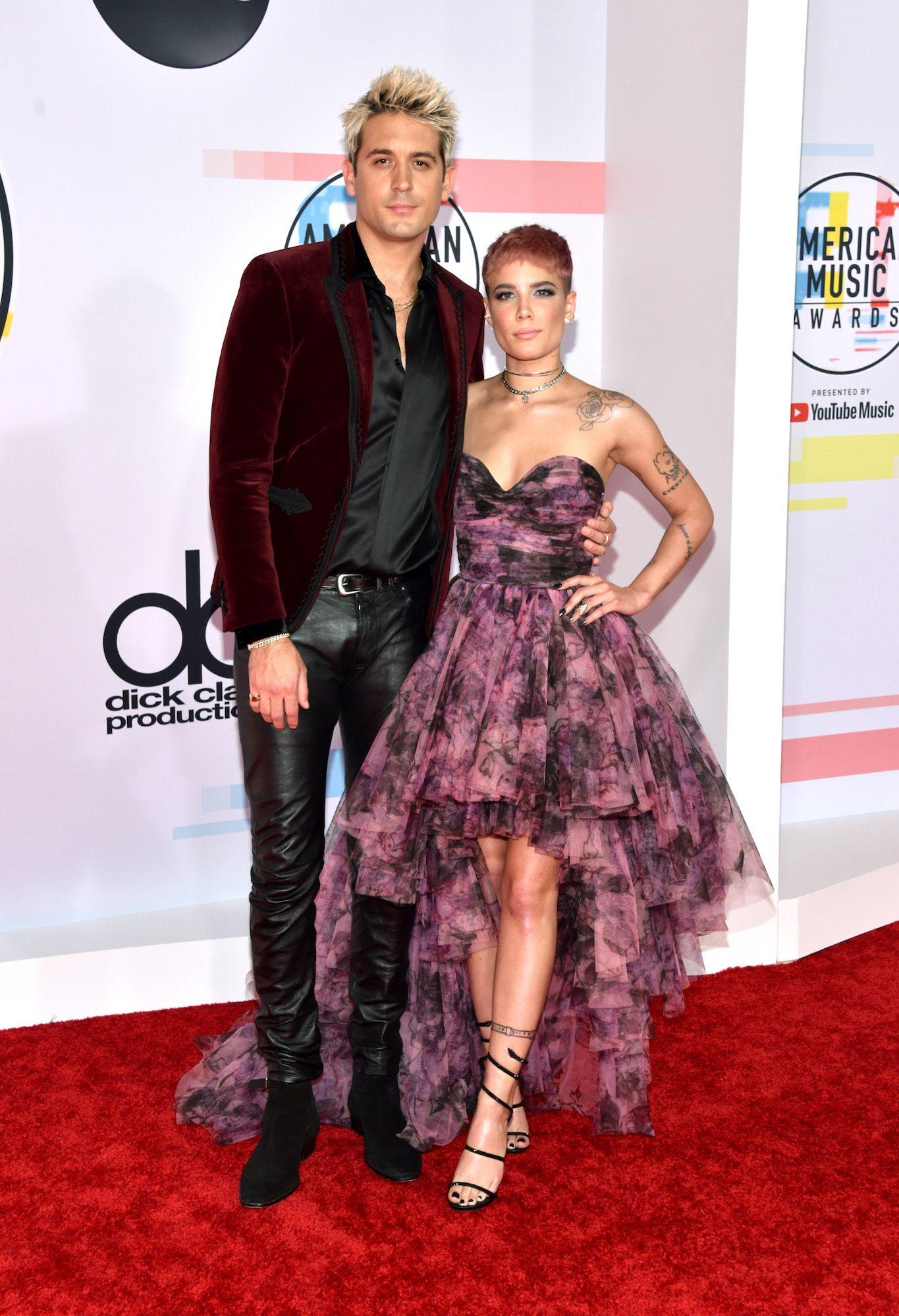 2018 American Music Awards Couples Halsey G-Eazy