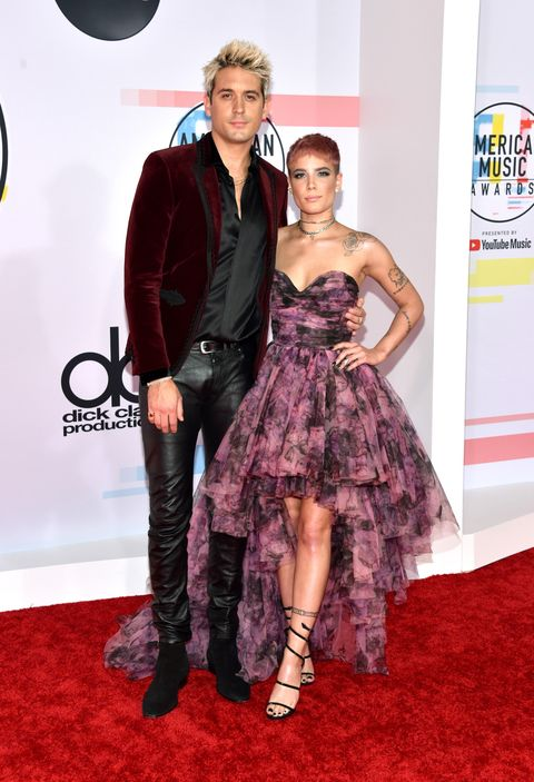 2018 American Music Awards Couples Halsey G-Eazy