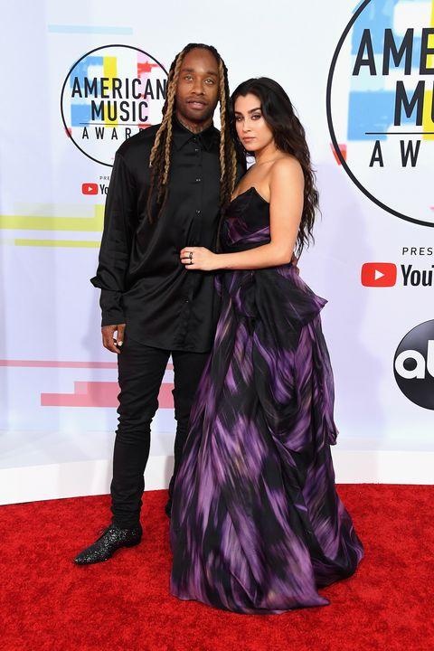 2018 American Music Awards Couples Lauren Jauregui Ty Dolla Sign