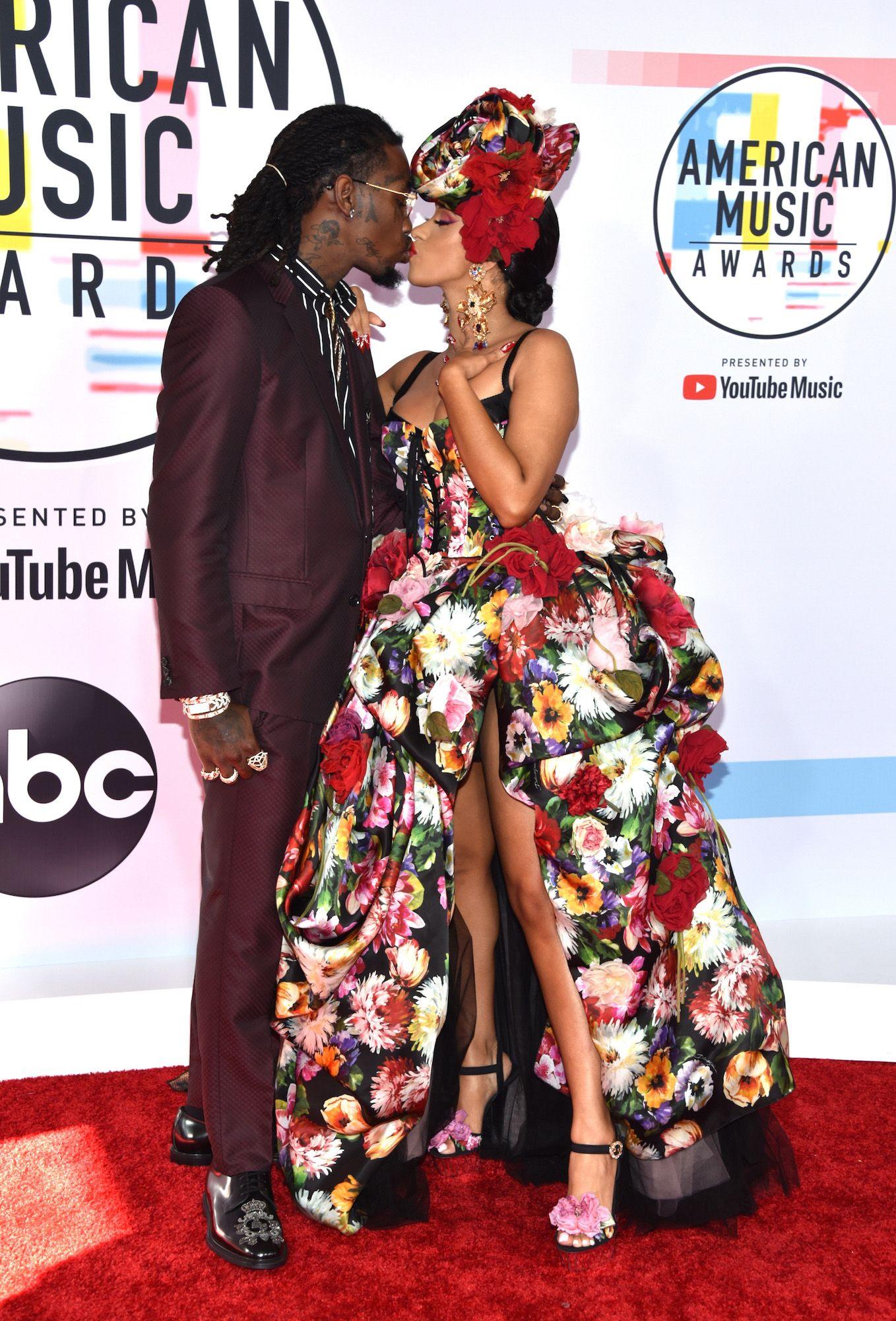 2018 American Music Awards Couples Cardi B Offset
