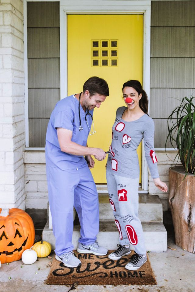 Do It Yourself Halloween Costumes For Couples.52 Diy Couples Halloween Costumes Easy Homemade Couples Costume Ideas